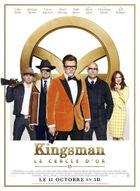 Affiche Kingsman : Le Cercle d'or