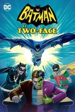 Affiche Batman contre Double-Face