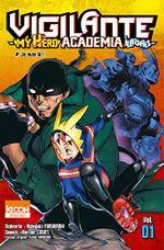 Couverture Vigilante : My Hero Academia Illegals