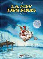 Couverture Disparition - La Nef des fous, tome 8