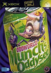Jaquette Oddworld : Munch's Oddysee