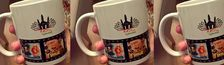 Cover films indiens imprimés sur la mug officielle de l'IUCR 2017 Hyderabad
