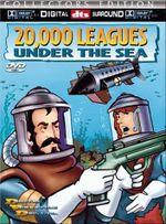 Affiche 20,000 lieues sous les mers