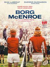 Affiche Borg/McEnroe
