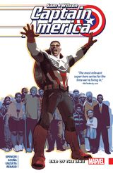 Couverture End of the Line - Captain America: Sam Wilson (2015), tome 5