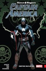 Couverture Empire Building - Captain America: Steve Rogers (2016), tome 3