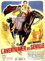 Affiche L'Aventurier de Séville