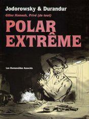 Couverture Polar extrême