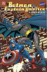 Couverture Batman et Captain America