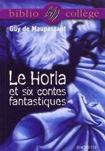 Couverture Le Horla et six contes fantastiques