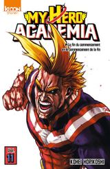 Couverture My Hero Academia, tome 11