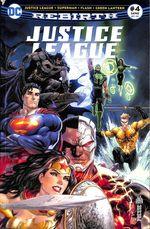 Couverture Justice League Rebirth (DC Presse), tome 4
