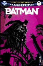 Couverture Batman Rebirth (DC Presse), tome 4