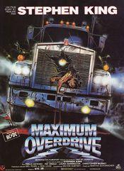 Affiche Maximum Overdrive