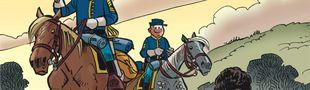 Couverture L'Étrange Soldat Franklin - Les Tuniques bleues, tome 61
