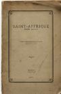 Couverture Saint-Affrique, terre sacrée