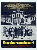 Affiche Un cadavre au dessert