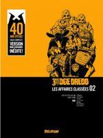 Couverture Judge Dredd : Les affaires classées, tome 2