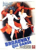 Affiche Broadway qui danse