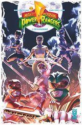 Couverture Mighty Morphin Power Rangers - Tome 2 : L'ère du Dragon Noir
