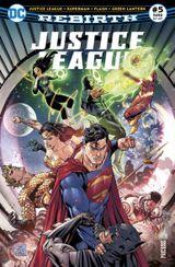 Couverture Justice League Rebirth (DC Presse), tome 5