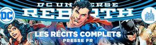 Cover DC Rebirth : les récits complets - Urban Comics (Presse)