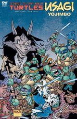 Couverture Teenage Mutant Ninja Turtles/Usagi Yojimbo