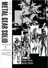 Couverture The Art of Metal Gear Solid I-IV