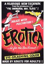 Affiche Erotica