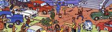 Cover Top 15 Bandes Dessinées de Course Automobile