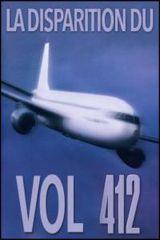 Affiche La disparition du vol 412