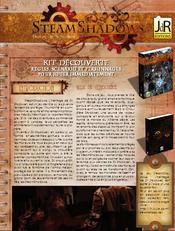 Couverture Steamshadows: kit de découverte