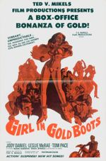 Affiche Girl in Gold Boots