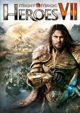 Jaquette Might & Magic : Heroes VII
