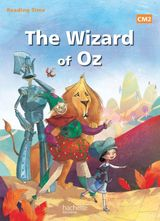 Couverture The wizard of Oz