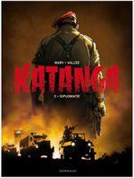Couverture Diplomatie - Katanga, tome 2