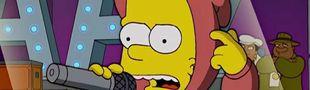 Cover Les Simpson dans le rap français