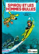 Couverture Spirou et les hommes-bulles - Spirou et Fantasio, tome 17