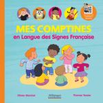 Couverture Mes comptines en Langue des Signes Française