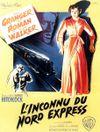 Affiche L'Inconnu du Nord-Express