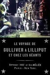 Affiche Le Voyage de Gulliver à Lilliput et chez les géants