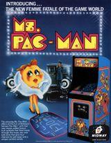 Jaquette Ms. Pac-Man