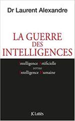 Couverture La guerre des intelligences