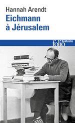 Couverture Eichmann à Jerusalem