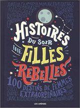 Couverture Histoires du soir pour filles rebelles