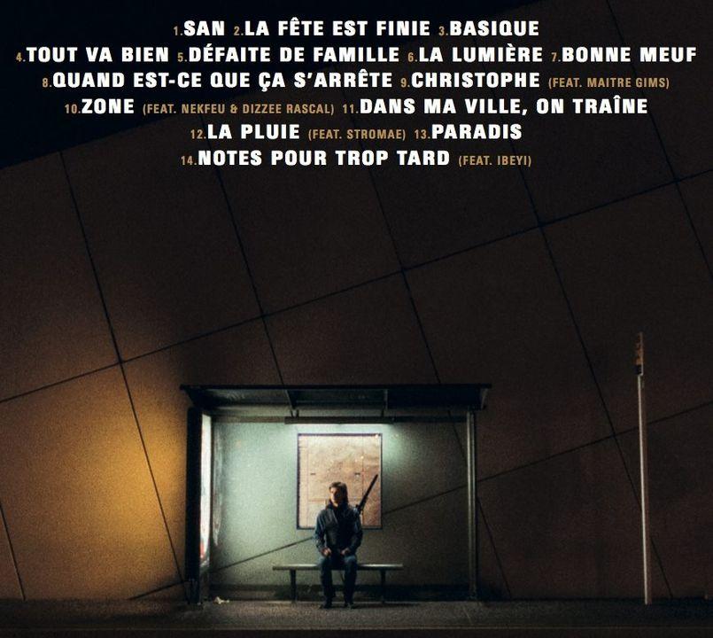 """Illustration OrelSan a dévoilé la tracklist (et les feats) de """"La fête est finie"""", son 3ème album, attendu pour le 20 octobre"""