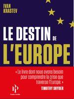 Couverture Le destin de l'Europe