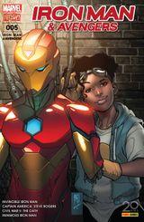Couverture Le Serment - Iron Man & Avengers, tome 5