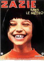 Affiche Zazie dans le métro