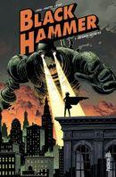 Couverture Origines secrètes - Black Hammer, tome 1